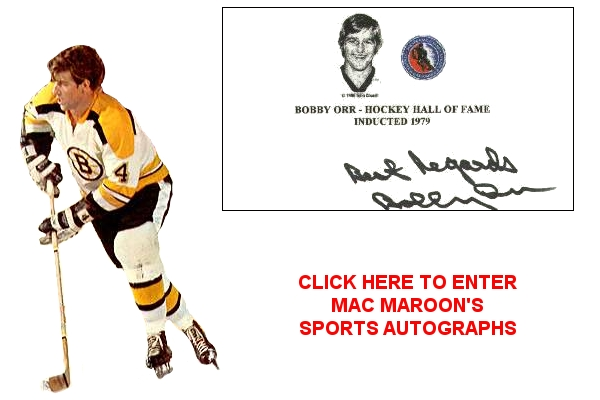 Click her to enter Mac Maroon's Sports Autographs